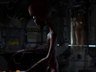 3d Animation: Alien Abduction