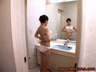 Miki Sato And Young Boy - Pleasing Shower (part 4 Of 9)