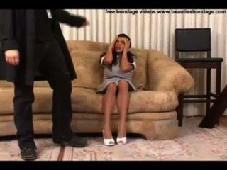 House Maid Get Grabbed By The Intruder