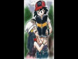 Pokemon - Ash And Dawn Having Sex