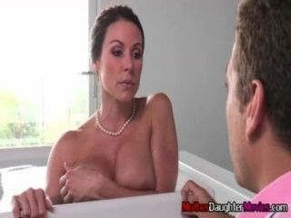 Son Gets Busted Spying On His Stepmom In The Baththub