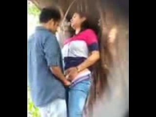 Lovers having sex in park uploded by- Nutriporn.com