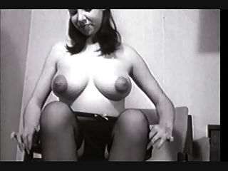 Nipples busty vintage puffy