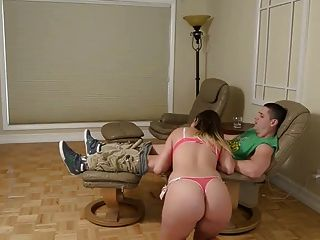 Step Sister Is Horny And Wants Not Her Step Brother