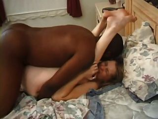Wife orgasms with young