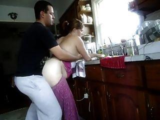 fucked in kitchen