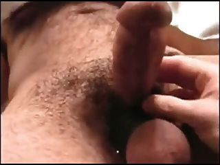 Sucking And Eating Cum Of Hairy Moustache Daddy