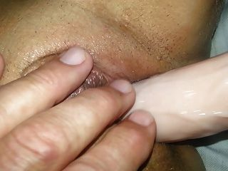 Shaven Pussy getting fucked by machine