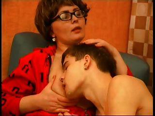 Sexy Granny Frances and Maximilian