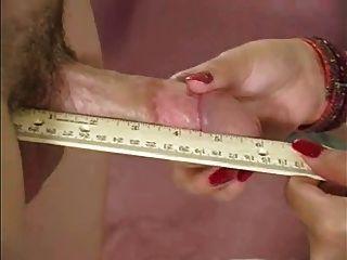 Female doctor gets sperm sample & taste from patient WF
