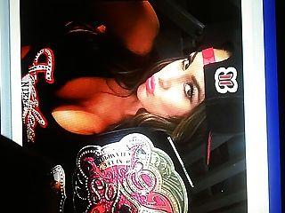 WWE Nikki Bella cum tribute