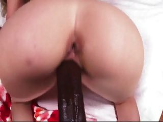 Babe doggy riding big black dick