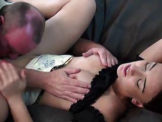 Young Girl fucks with Older Guy