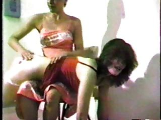 girl girl otk spanking