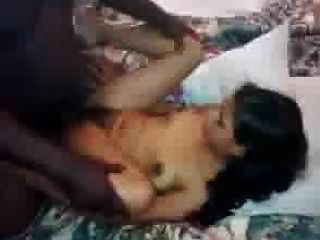 A young Indian girl being penetrated