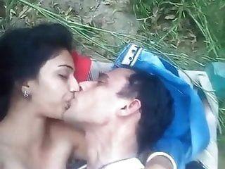 Arab couple outdoor sex